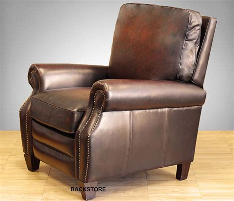 Furniture Recliner Chairs by New Barcalounger Briarwood Ii Genuine Stetson Bordeaux