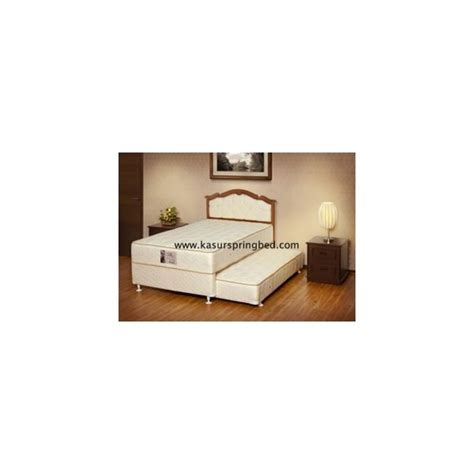 Ranjang Central Bed bed central 2in1 sandaran panama