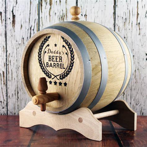 beer barrel personalised oak beer barrel by 3 blonde bears