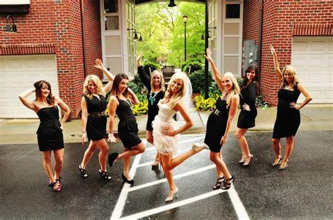 bachelorette party themes little black dress bachelorette party everyone wears black and bride wears