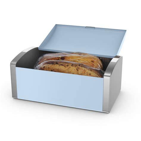 bread loaf storage container morphy richards accents bread bin azure food biscuits loaf