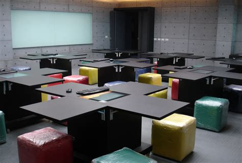 Interactive Desk by Zytronic Touch Sensors Specified Into The Classrooms Of