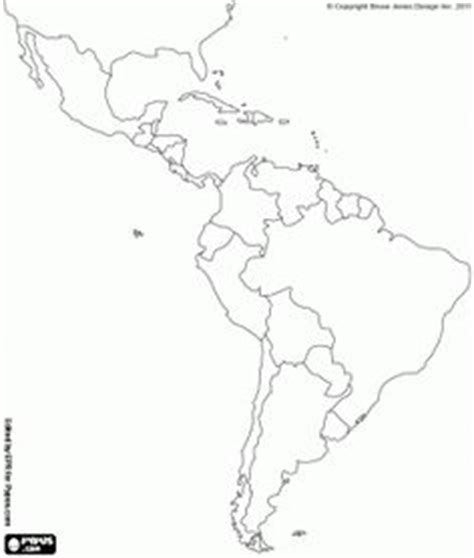 coloring page map of central america espa 241 ol on pinterest central america spanish and maps