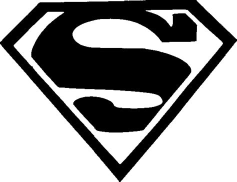 superman logo template for cake template clipart best