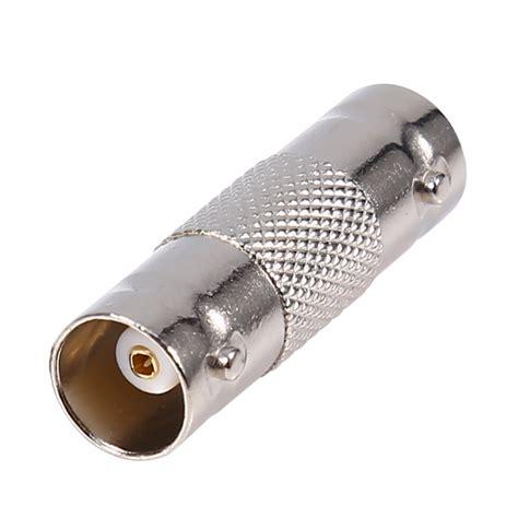 Sambungan Barel Connector Bnc To Bnc 10x to f f bnc barrel connector cctv coax adapter for cable ebay