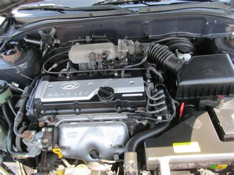 hyundai accent 1 6 dohc engine 2005 hyundai accent gls coupe 1 6 liter dohc 16 valve 4