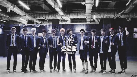 wallpaper exo growl exo growl wallpaper ot12 by exoeditions on deviantart