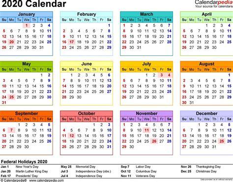 printable year   glance calendar  calendar