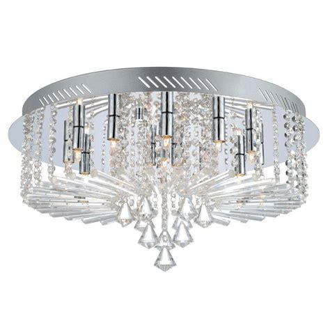 chrome flush mount light eglo 15 light chrome and flushmount 200389a the