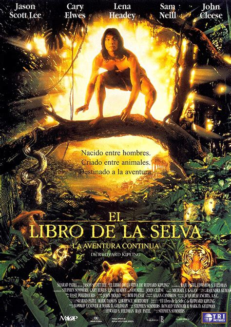 libro la aventura de la el libro de la selva la aventura contin 250 a pel 237 cula 1994 sensacine com