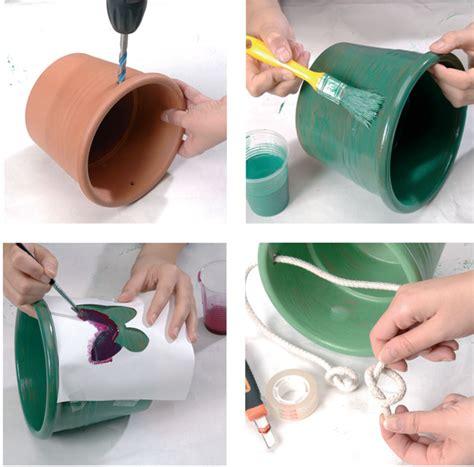 decorazioni vasi vasi decorati bricoportale fai da te e bricolage