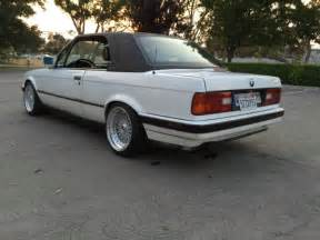 1991 bmw e30 325i top convertible california rust