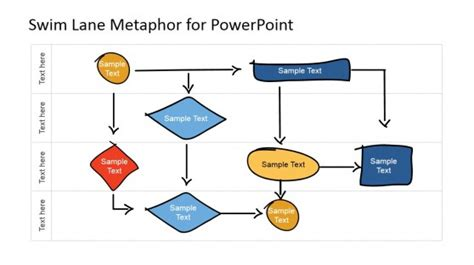Swim Lane Powerpoint Diagrams Swimlanes In Powerpoint