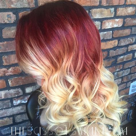 red to blonde ombre bob 40 hottest ombre hair color ideas for 2018 short