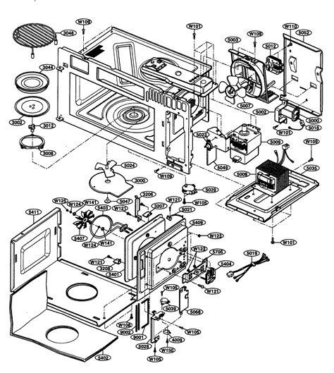 kenmore elite parts diagram interior parts 1 diagram parts list for model