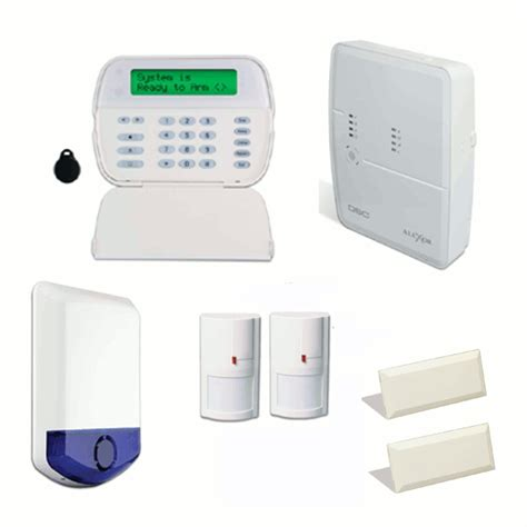 dsc alexor wireless alarm system starter bundle