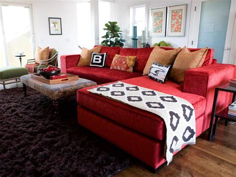 red furniture ideas amazing living room decorating ideas with red sofa and