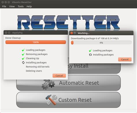 resetting ubuntu to factory settings resetter simple way to reset ubuntu linux mint to