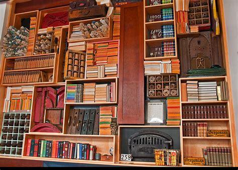 large vintage bookcase photograph by valerie garner