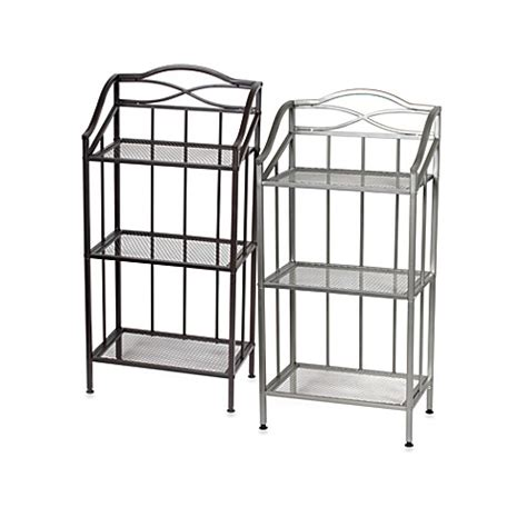 bed bath and beyond shelving napa 3 shelf bath tower bed bath beyond