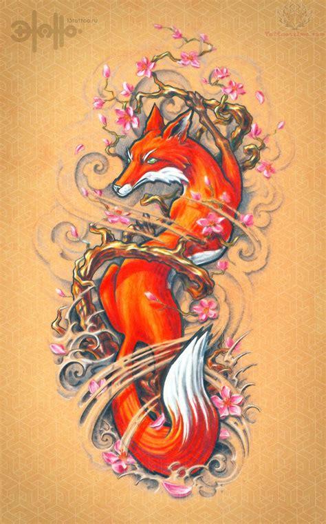 fox tattoo images amp designs