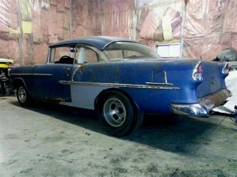55 chevy bel air project car autos post