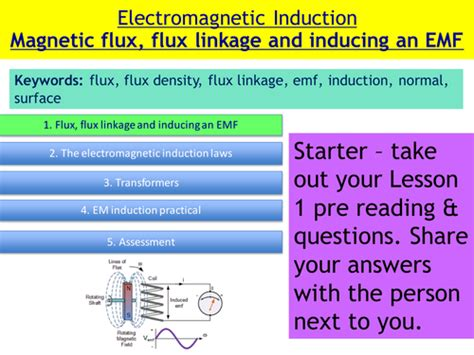 electromagnetic induction physics a level new ocr a level physics induction booklet by rejallen uk teaching resources tes