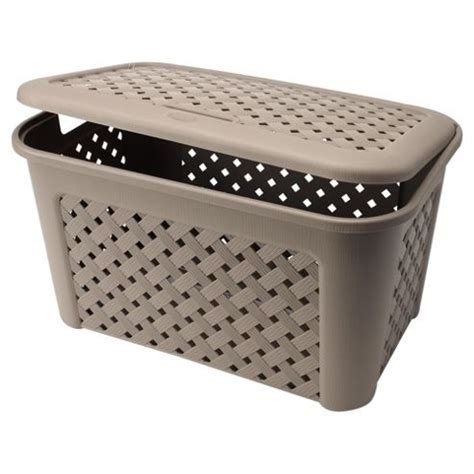 Large Laundry With Lid Buy Arianna Large Laundry Basket With Lid Mole From Our