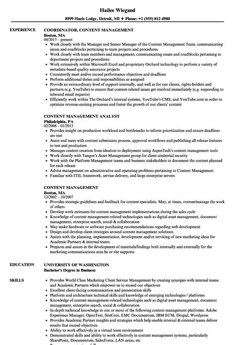 magnificent sharepoint content manager resume pictures
