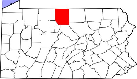 file map of pennsylvania highlighting cumberland county file map of pennsylvania highlighting potter county svg