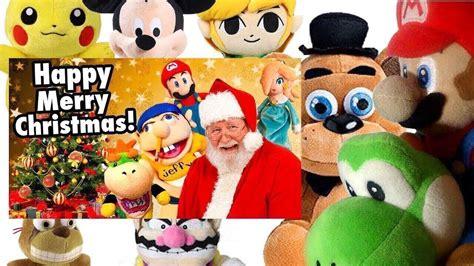 sml  happy merry christmas mario freddys reaction pikachulinkwarioyoshi