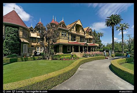winchester house san jose picture photo gardens and facade winchester mystery house san jose california usa