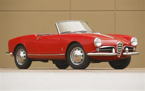 Alfa Romeo Company by 1958 Alfa Romeo Giulietta Spider Gooding Company