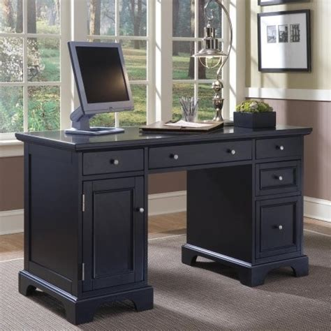 Desk Styles Traditional by Home Styles Bedford Pedestal Computer Desk Traditional