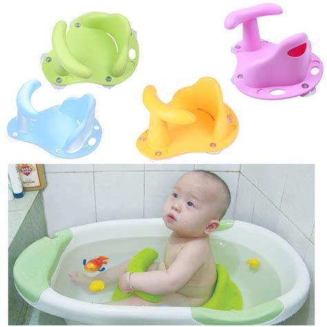 Baby Bathtub Ring Seat Chair by Aliexpress Buy Baby Infant Kid Child Toddler Bath