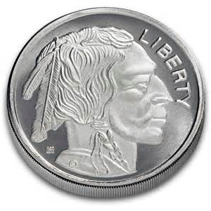 one troy ounce 999 fine silver buffalo silver rounds 1 oz