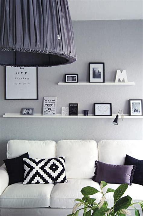 Vorhang Schwarz Weiß by Wohnzimmer Wanddeko Ideen