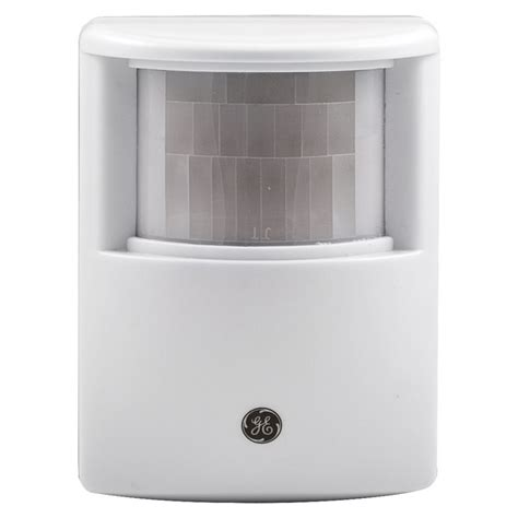 motion light with alarm shop ge choice alert wireless alarm motion sensor at lowes com