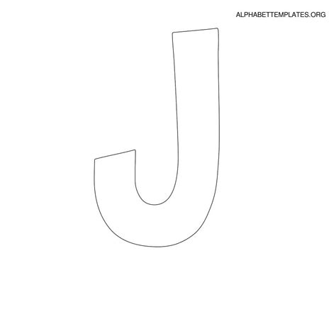 letter j template best photos of letter j template large letter j template