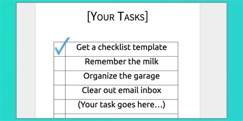 Download Your Free Microsoft Word Checklist Template Process Street Microsoft Word Check Template