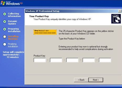 installation reload oem windows xp super user