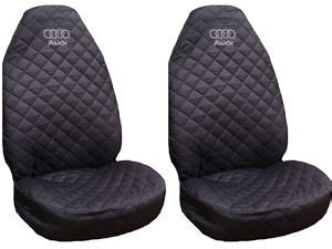 audi seat covers with logo new front seat covers waterproof for audi a2 a3 a4