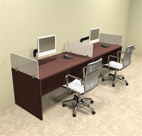 2 person desks two person divider modern office workstation desk set ot