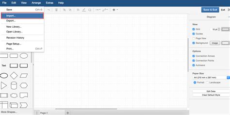 confluence visio diagramming in confluence vsdx import for draw io draw io