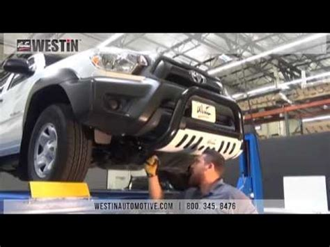 installation of westin ultimate bull bar on toyota tacoma