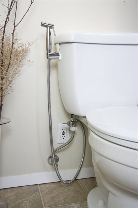 washroom bidet brondell cleanspa luxury held bidet sprayer