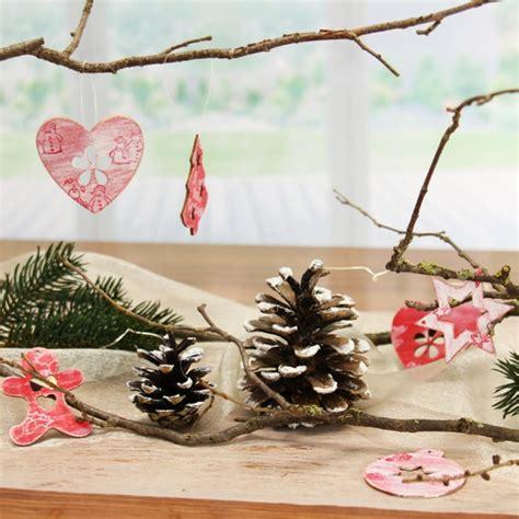 weihnachtsbaum deko selber basteln gestalten