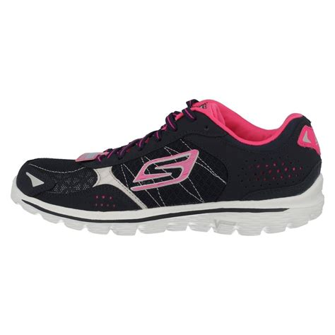 Sepatu Skechers Goga Mat skechers go walk 2 trainers flash with goga mat ebay