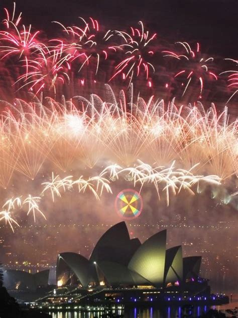 sydney opera house new year est100 一些攝影 some photos firework in the new year