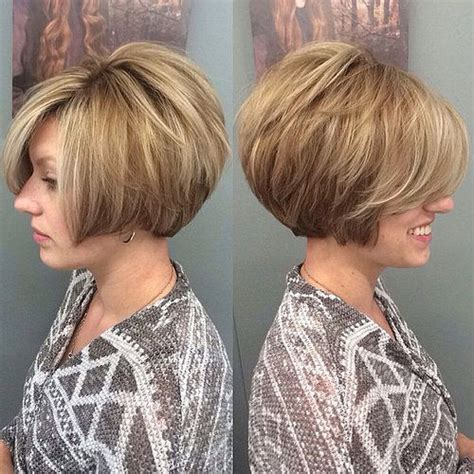 how to get an edgy stacked bob 22028 short hairstyle shorts and hair style